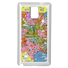 Mad Magazine Sadic Comics Humor Funny Comics Poster Samsung Galaxy Note 4 Case (white)