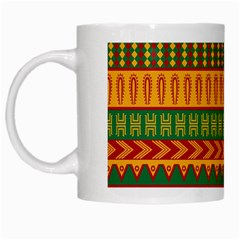 Mexican Pattern White Mugs