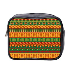 Mexican Pattern Mini Toiletries Bag 2 Side