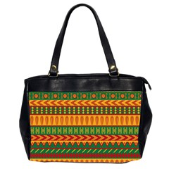 Mexican Pattern Office Handbags (2 Sides)