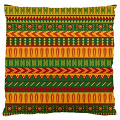 Mexican Pattern Large Cushion Case (one Side)