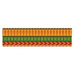 Mexican Pattern Satin Scarf (oblong)