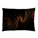 Multicolor Fractals Digital Art Design Pillow Case (Two Sides) Back
