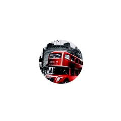 London Bus 1  Mini Magnets