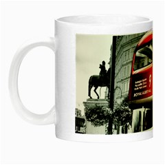London Bus Night Luminous Mugs