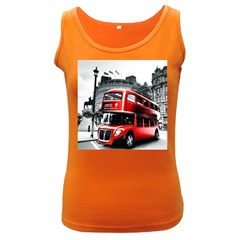 London Bus Women s Dark Tank Top
