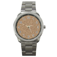 Mosaic Pattern Background Sport Metal Watch by Sapixe