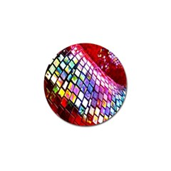 Multicolor Wall Mosaic Golf Ball Marker (10 Pack) by Sapixe