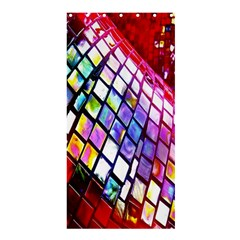 Multicolor Wall Mosaic Shower Curtain 36  X 72  (stall)  by Sapixe