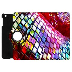 Multicolor Wall Mosaic Apple Ipad Mini Flip 360 Case by Sapixe