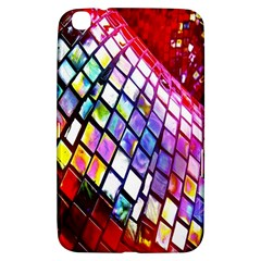 Multicolor Wall Mosaic Samsung Galaxy Tab 3 (8 ) T3100 Hardshell Case  by Sapixe