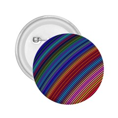 Multicolored Stripe Curve Striped 2 25  Buttons by Sapixe
