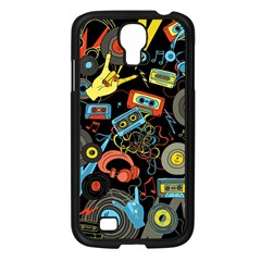 Music Pattern Samsung Galaxy S4 I9500/ I9505 Case (black) by Sapixe