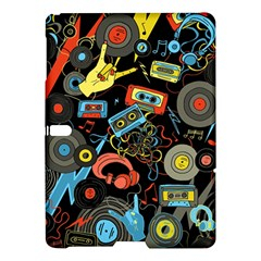 Music Pattern Samsung Galaxy Tab S (10 5 ) Hardshell Case  by Sapixe
