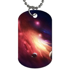 Nebula Elevation Dog Tag (one Side)