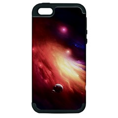 Nebula Elevation Apple Iphone 5 Hardshell Case (pc+silicone)