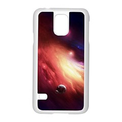 Nebula Elevation Samsung Galaxy S5 Case (white)