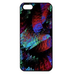 Native Blanket Abstract Digital Art Apple Iphone 5 Seamless Case (black)