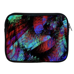 Native Blanket Abstract Digital Art Apple Ipad 2/3/4 Zipper Cases