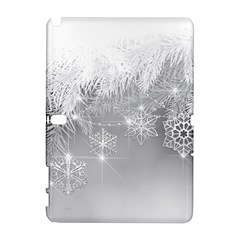 New Year Holiday Snowflakes Tree Branches Galaxy Note 1