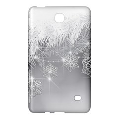 New Year Holiday Snowflakes Tree Branches Samsung Galaxy Tab 4 (7 ) Hardshell Case  by Sapixe