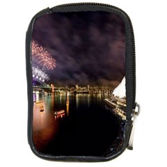 New Year's Evein Sydney Australia Opera House Celebration Fireworks Compact Camera Cases by Sapixe