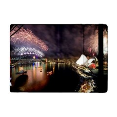 New Year's Evein Sydney Australia Opera House Celebration Fireworks Apple Ipad Mini Flip Case by Sapixe