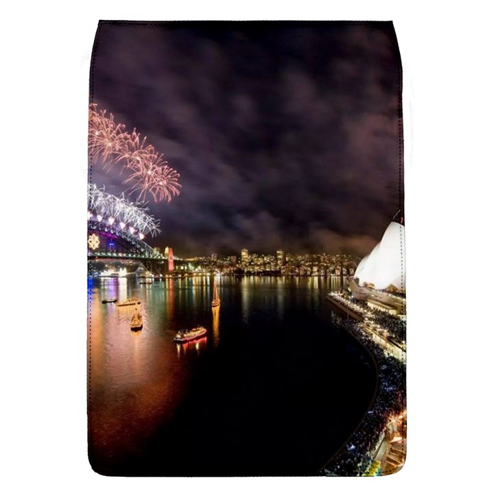 New Year's Evein Sydney Australia Opera House Celebration Fireworks Flap Covers (L)
