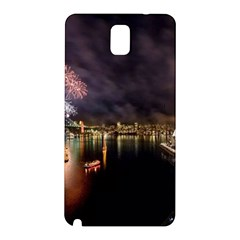 New Year's Evein Sydney Australia Opera House Celebration Fireworks Samsung Galaxy Note 3 N9005 Hardshell Back Case by Sapixe