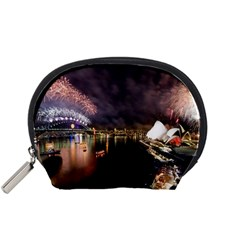 New Year's Evein Sydney Australia Opera House Celebration Fireworks Accessory Pouches (small)  by Sapixe