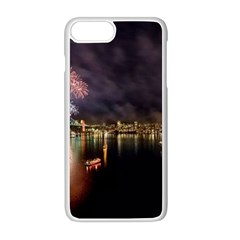 New Year's Evein Sydney Australia Opera House Celebration Fireworks Apple Iphone 8 Plus Seamless Case (white) by Sapixe