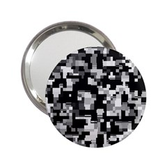 Noise Texture Graphics Generated 2 25  Handbag Mirrors by Sapixe