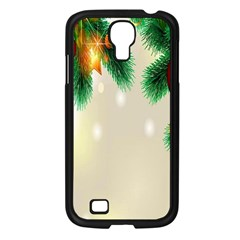 Ornament Christmast Pattern Samsung Galaxy S4 I9500/ I9505 Case (black) by Sapixe