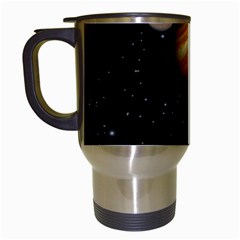 Outer Space Planets Solar System Travel Mugs (white) by Sapixe
