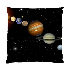 Outer Space Planets Solar System Standard Cushion Case (one Side) by Sapixe
