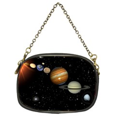 Outer Space Planets Solar System Chain Purses (two Sides)  by Sapixe