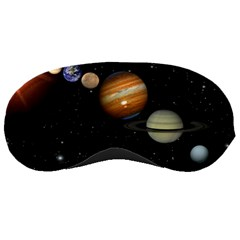 Outer Space Planets Solar System Sleeping Masks by Sapixe