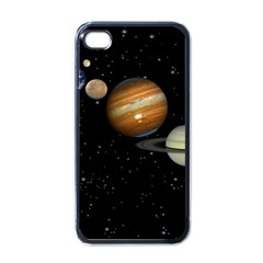 Outer Space Planets Solar System Apple Iphone 4 Case (black) by Sapixe