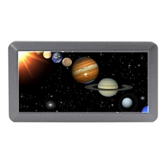 Outer Space Planets Solar System Memory Card Reader (mini) by Sapixe