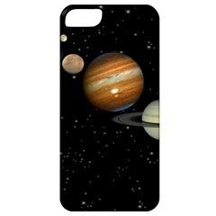 Outer Space Planets Solar System Apple Iphone 5 Classic Hardshell Case by Sapixe