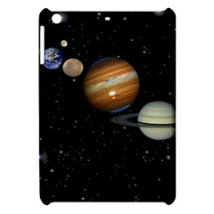 Outer Space Planets Solar System Apple Ipad Mini Hardshell Case by Sapixe