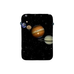 Outer Space Planets Solar System Apple Ipad Mini Protective Soft Cases by Sapixe
