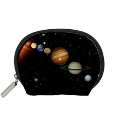 Outer Space Planets Solar System Accessory Pouches (small)  by Sapixe
