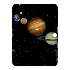 Outer Space Planets Solar System Samsung Galaxy Tab 4 (10 1 ) Hardshell Case  by Sapixe