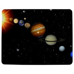 Outer Space Planets Solar System Jigsaw Puzzle Photo Stand (rectangular) by Sapixe