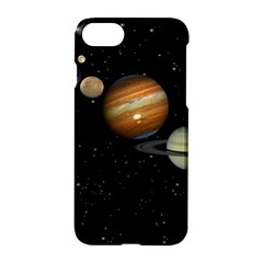 Outer Space Planets Solar System Apple Iphone 7 Hardshell Case by Sapixe