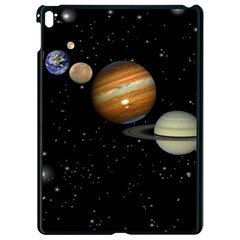 Outer Space Planets Solar System Apple Ipad Pro 9 7   Black Seamless Case by Sapixe