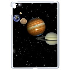 Outer Space Planets Solar System Apple Ipad Pro 9 7   White Seamless Case by Sapixe