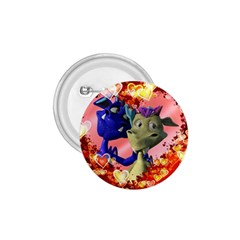 Ove Hearts Cute Valentine Dragon 1 75  Buttons by Sapixe