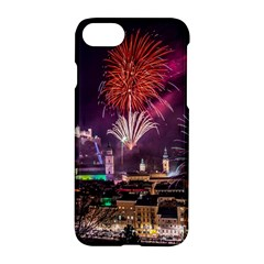New Year New Year's Eve In Salzburg Austria Holiday Celebration Fireworks Apple Iphone 7 Hardshell Case by Sapixe